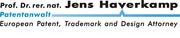 Patentanwalt Prof. Dr. Jens Haverkamp