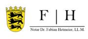 Dr. Fabian Hetmeier, LL.M. Notar