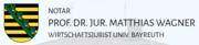 Notar Prof. Dr. Matthias Wagner