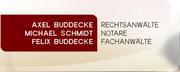Axel Buddecke, Michael Schmidt, Felix Buddecke Rechtsanwälte und Notare