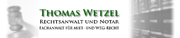 Thomas Wetzel Rechtsanwalt